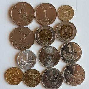 Vintage Hong Kong coins